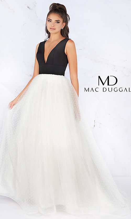 5e6c5446902 Flash by Mac Duggal Ball Gown-Style Formal Gown