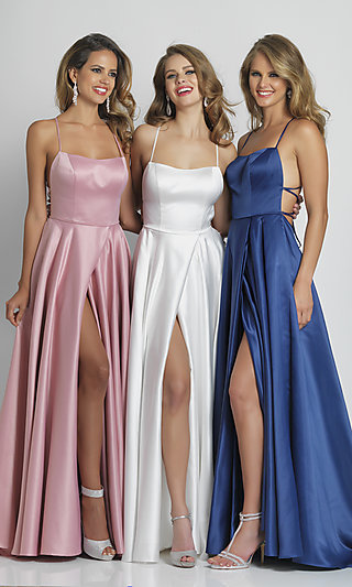 Long Prom Gown A6690 by Dave and Johnny