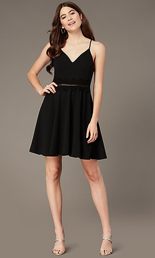LBD V-Neck for Parties