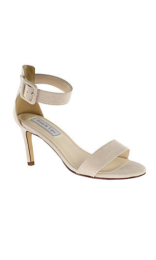 Touch Ups Brenda Beige Imitation Suede Sandal