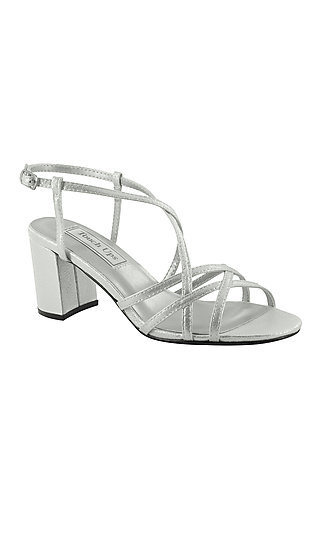 Eva Open-Toe Touch Ups Sandal in Silver