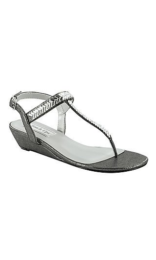Touch Ups Kendra Pewter Silver Sandal