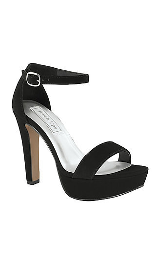 Touch Ups Mary Black Platform Sandal