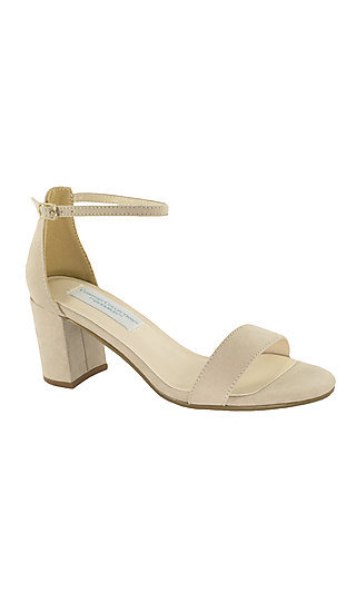 Beige January Sandal with a 2 1/4