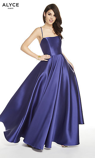 Long Alyce Sleeveless Classic Designer Formal Gown