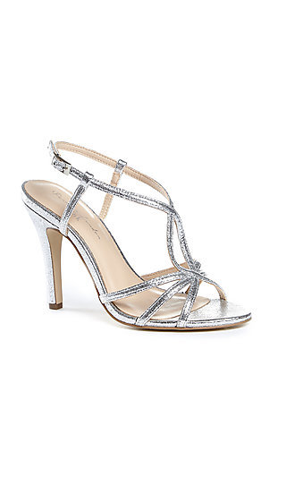 Metallic Silver Magic Sandal