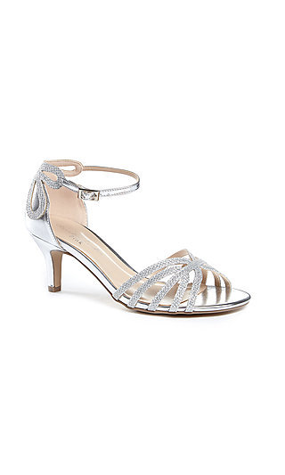 Melby Silver Shoe with a 2 1/2