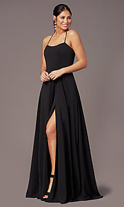Image of PromGirl sweetheart long formal prom dress. Style: PG-F2011 Front Image