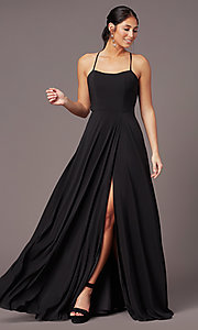Image of PromGirl sweetheart long formal prom dress. Style: PG-F2011 Detail Image 2
