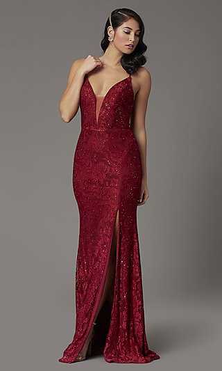 Corset-Back Lace Prom Dress from JVNX by Jovani