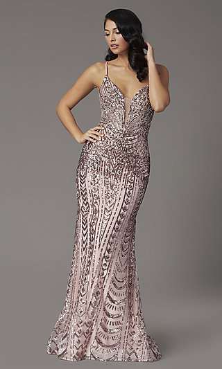 Sequin Embellished JVNX by Jovani Prom Dress