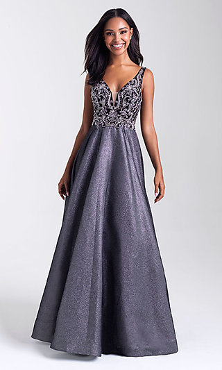 Madison James Prom Ball Gown 390