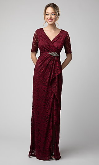 Shail K Mother-of-the-Bride Lace Dress