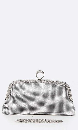Ring Clutch with Shoulder Chain