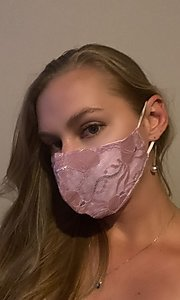 Style: KAC-BES-21-LACE-MASK4-P Front Image