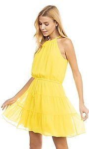 Image of casual short summer party dress. Style: FG-NZB-21-SD115622 Front Image