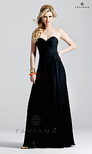 Long Prom Dress Style: FA-6428 Front Image