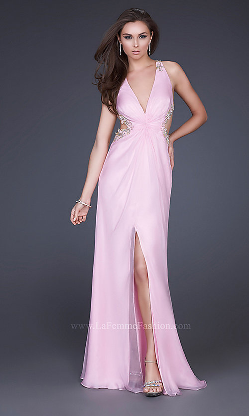 Long Prom Dress Style: LF-16288 Detail Image 1
