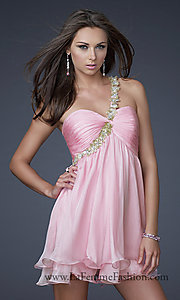 Short Prom Dress Style: LF-16060 Detail Image 2