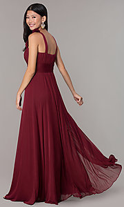 Image of long formal dress for prom  Style: DQ-8115 Detail Image 4