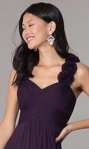 Image of long formal dress for prom  Style: DQ-8115 Detail Image 1