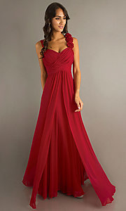 Image of long formal dress for prom  Style: DQ-8115 Detail Image 6