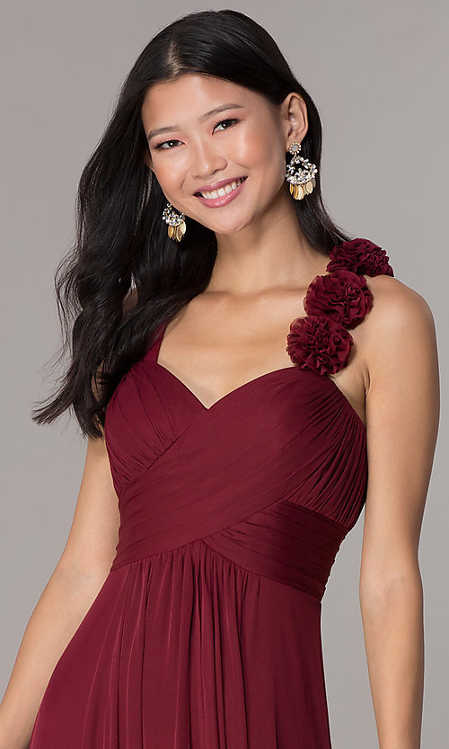 Image of long formal dress for prom  Style: DQ-8115 Detail Image 5