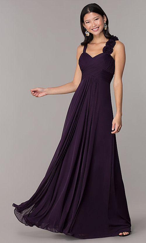 Image of long formal dress for prom  Style: DQ-8115 Front Image