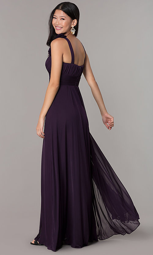 Image of long formal dress for prom  Style: DQ-8115 Back Image