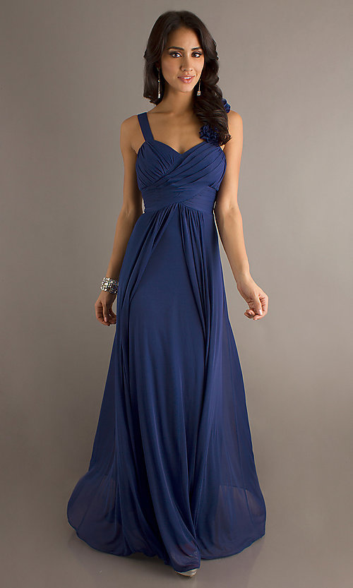 Image of long formal dress for prom  Style: DQ-8115 Detail Image 7