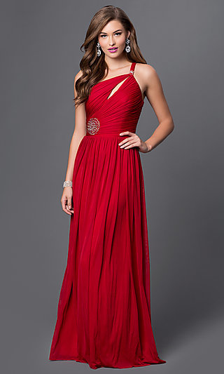 One Shoulder Formal Gowns, One Shoulder Dresses